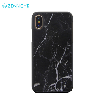 Elegant Cheap Protective Custom Marble Print Phone Case For Iphone X