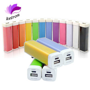 Best for gift lipstick power bank phone charger usb, FCC CE ROHS MSDS lipstick power bank 2600mah