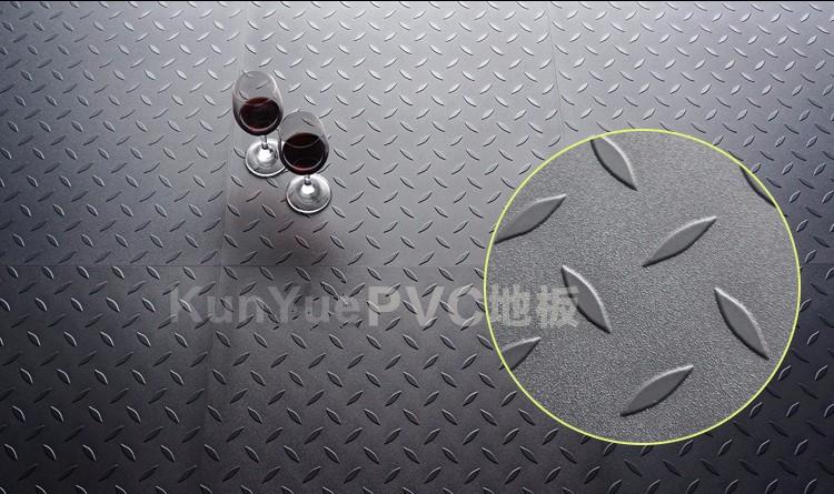 Fußboden Fliesen Garage ~ Pvc kreis ohrstecker muster anti skid garagennutzung pvc vinyl