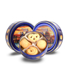 4 oz danish butter cookies in tins packaging tins 113.4g