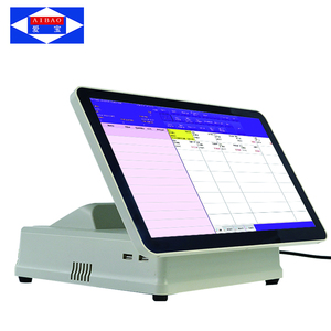 LED8 15.6 inch windows 7 capacitive touch screen pos system Guangzhou factory