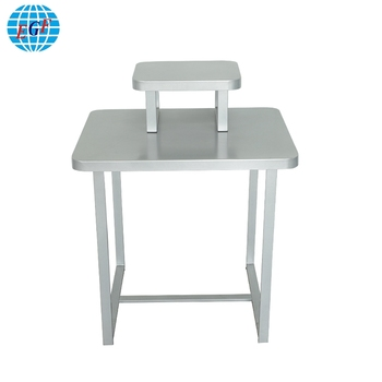 Luxury Silver Retail Store Sock Garment Metal Wooden Display Nesting Tables Rack View Metal Nesting Tables Egf Product Details From Xiamen Ever