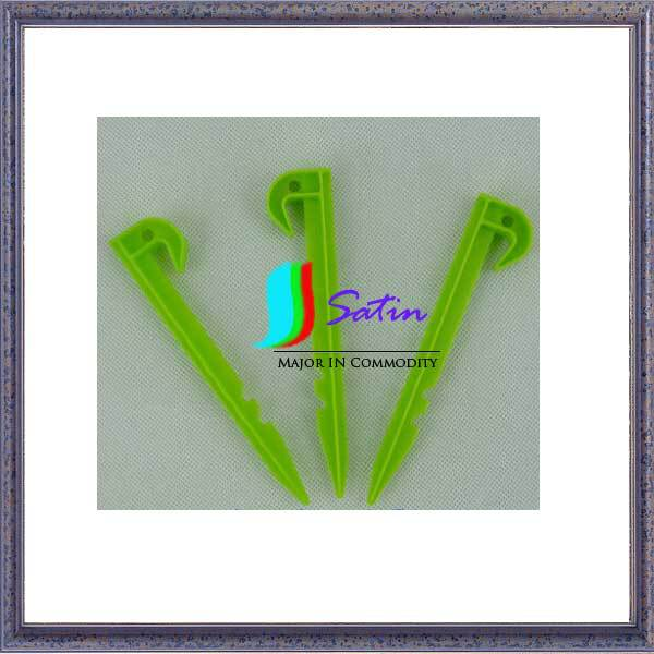 Get Quotations ST1520153 3 Color 145CM Strong Plastic Tent Accessories Pegs Camping Heavy Duty Awning Stakes