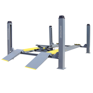 SMD40F4 Smithde 4.0t Small Platform Used 4 Post Car Lift For Sale