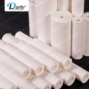 Filter supplier 5 micron spun filter industrials water filter cartridge