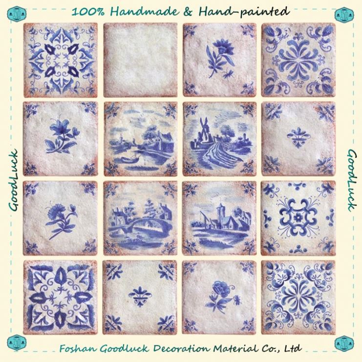 Hand Made Ceramic Tile Exterior Wall Building And Decoration Materials