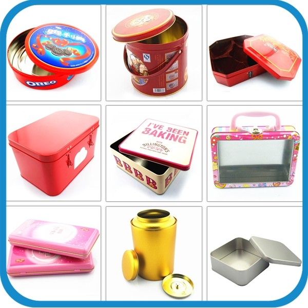 China Supplier Recyclable Feature Silver Round Aerosol Tin Can ...