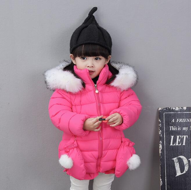 zm52380a children winter clothing wholesale price pink wool coat