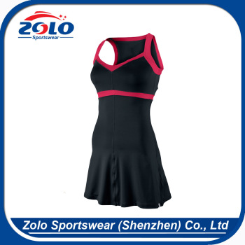 New design custom fashion fancy comfortable girls tennis clothing