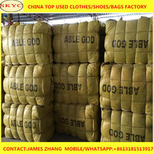Bulk Wholesale Original Recycling Used Clothing In Canada