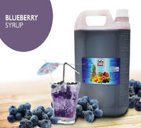 Blueberry Concentrated Syrup Fruit Juice