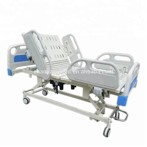 CE Approved Five Function Medical bed electric ICU bed Electric Hospital Bed