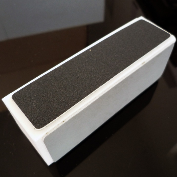 free shipping Sanding block scrub polishing block tofu finger file sponge file french nail art