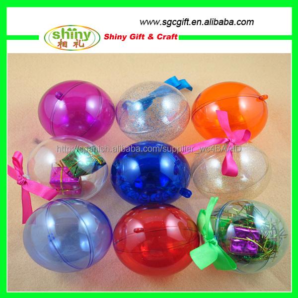 Decoraciones para navidad esferas transparentes navidad suministros de decoraci n de navidad - Bolas navidad transparentes ...