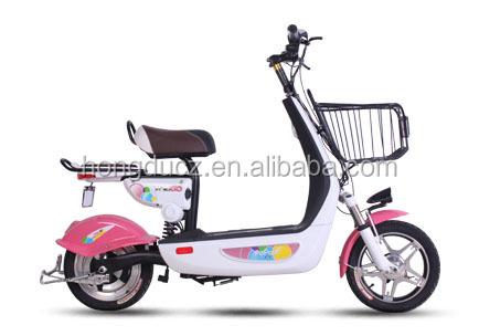 Ukuran Kecil Skuter Listrik Sepeda Motor Sesuai Bagi Siswa