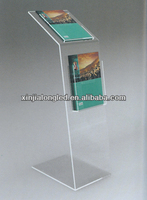 A5 Acrylic Poster Leaflet Display Stand Acrylic Sign Displayer A5 ...