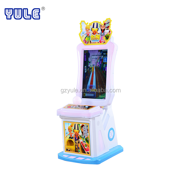 YU LE Newest indoor playground children game equipment video game console wholesale