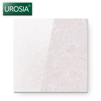 800x800 China Guangdong Foshan Floor Tiles Manufacturer glossy light pink porcelain floor tiles with white vein