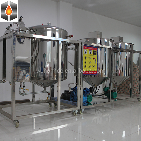 High quality small capacity oil bleaching equipment,edible palm oil refined bleached machinery