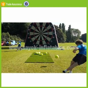 dart board inflatable foot darts for sale air blow soccer dart game ball