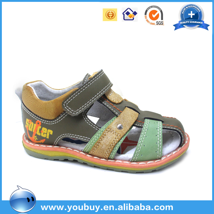 China Wholesale Leather Upper Sandals Shoes For Boys