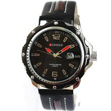 Top grade most popular vintage leather watch for man