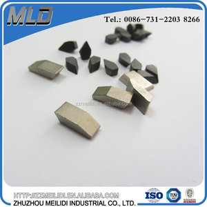 OEM cemented tungsten carbide saw tips with HIP sintering, carbide saw teeth for circular saw blade