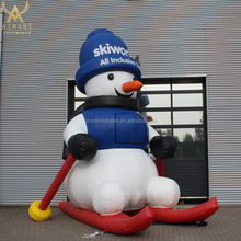Giant lovely inflatable snowman balloon for Christmas decoration
