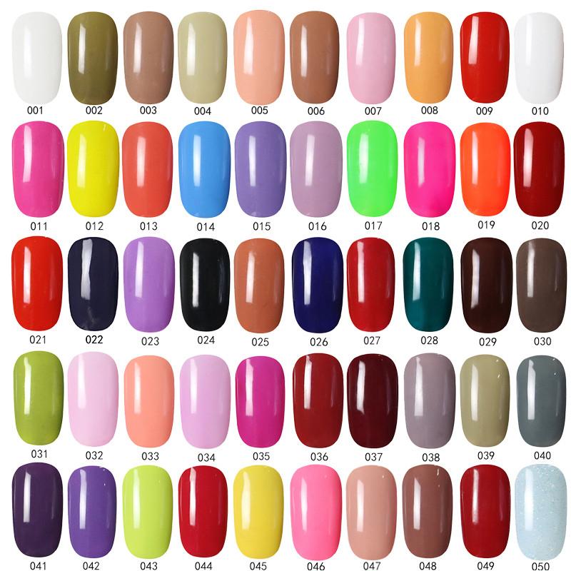 2016 New Spring Hot Fashion Colors Glimmer Glitz Gel Polish Uv Gel ...