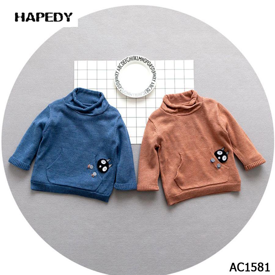 Diseño de dibujos animados suéter niños suéter tejer patrón-Camisas ...