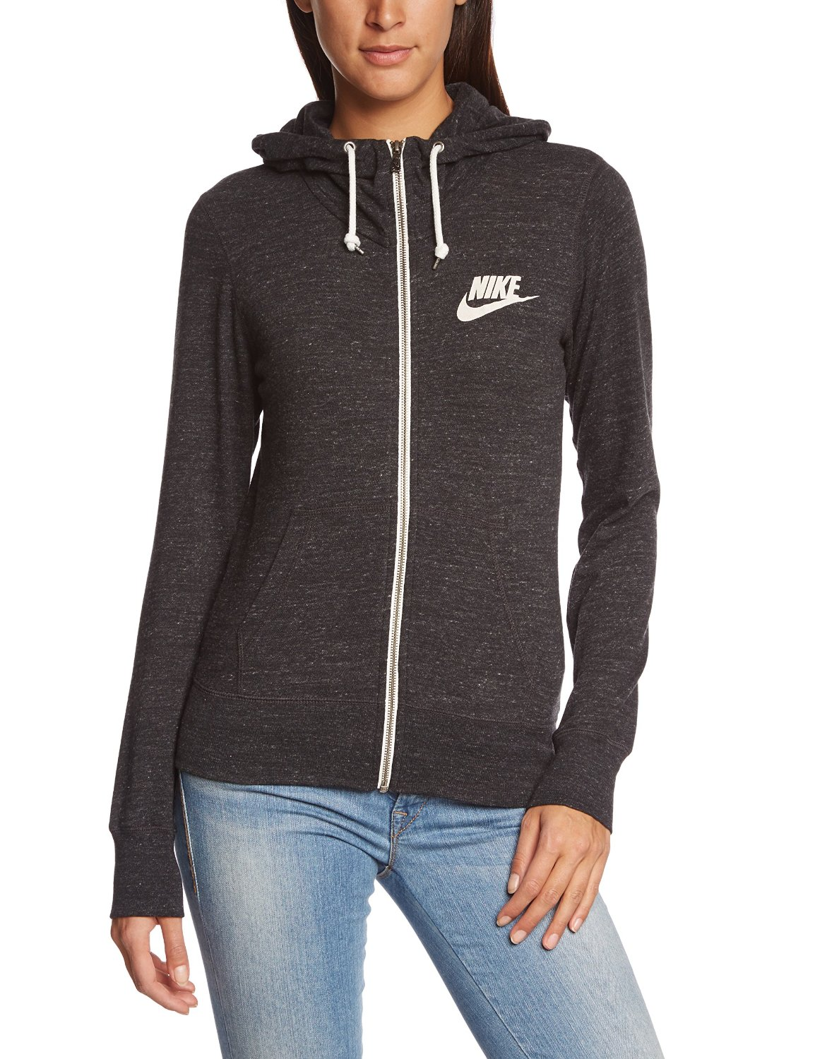 33b80976c4d8 Buy Nike Womens Gym Vintage Full Zip Front Hoodie in Cheap Price on ...