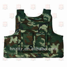 Woodland camouflage military bulletproof vest