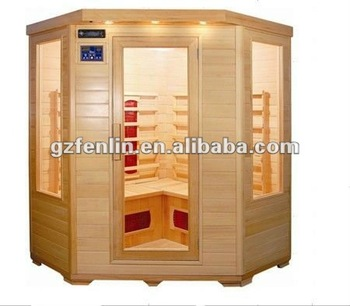 4 Persons Use Outdoor Sauna Steam Far Infrared Sauna Rooms ...