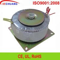 220v 12v 24v 25W 60W 85W 100W 120W Toroidal power audio isolation transformer