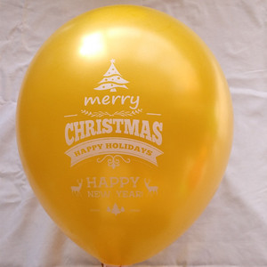 Merry Christmas party decoration balloon latex led light up festival kids gift balloon with CE EN71