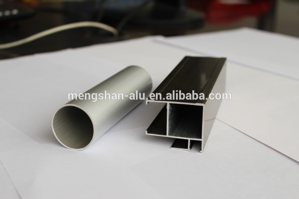 Silver White Anodized 6063 T5 Industrial Aluminum Half Round Tube ...