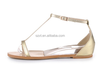 Fashion Latest Ladies Summer Flats Sandal Bridal Strap Flat Sandal ...