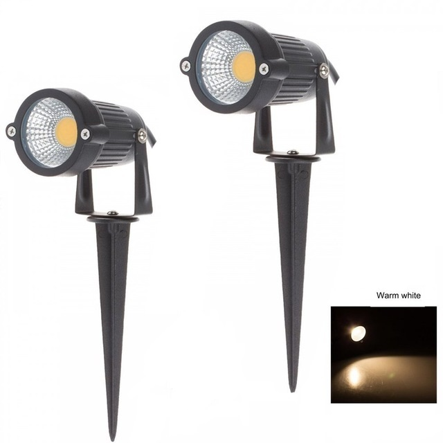 China Factory IP65 aluminum adjustable 5W <strong>outdoor</strong> <strong>led</strong> garden spike <strong>light</strong>