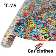 Top Quality Air Free Bubble Vehicle Graphic Car Wrap