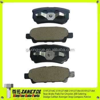 Brake pads 2007 dodge caliber