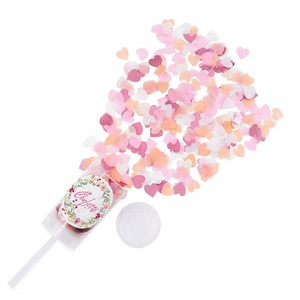 Push-pop Confetti Pop Cannon for Birthday Wedding Party Favor Supplies