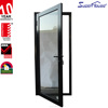 Amercian standard China factory fire rating Aluminium frame glazing exterior Hinge Mirror doors
