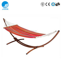 Garden leisure Double Fabric Hammock With Steel Stand Best Parachute