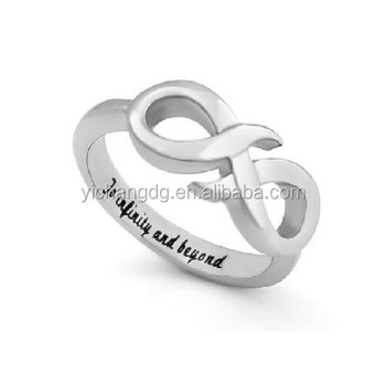 Infinity Ringpromise Ring Infinity Symbol Ring To Infinity And