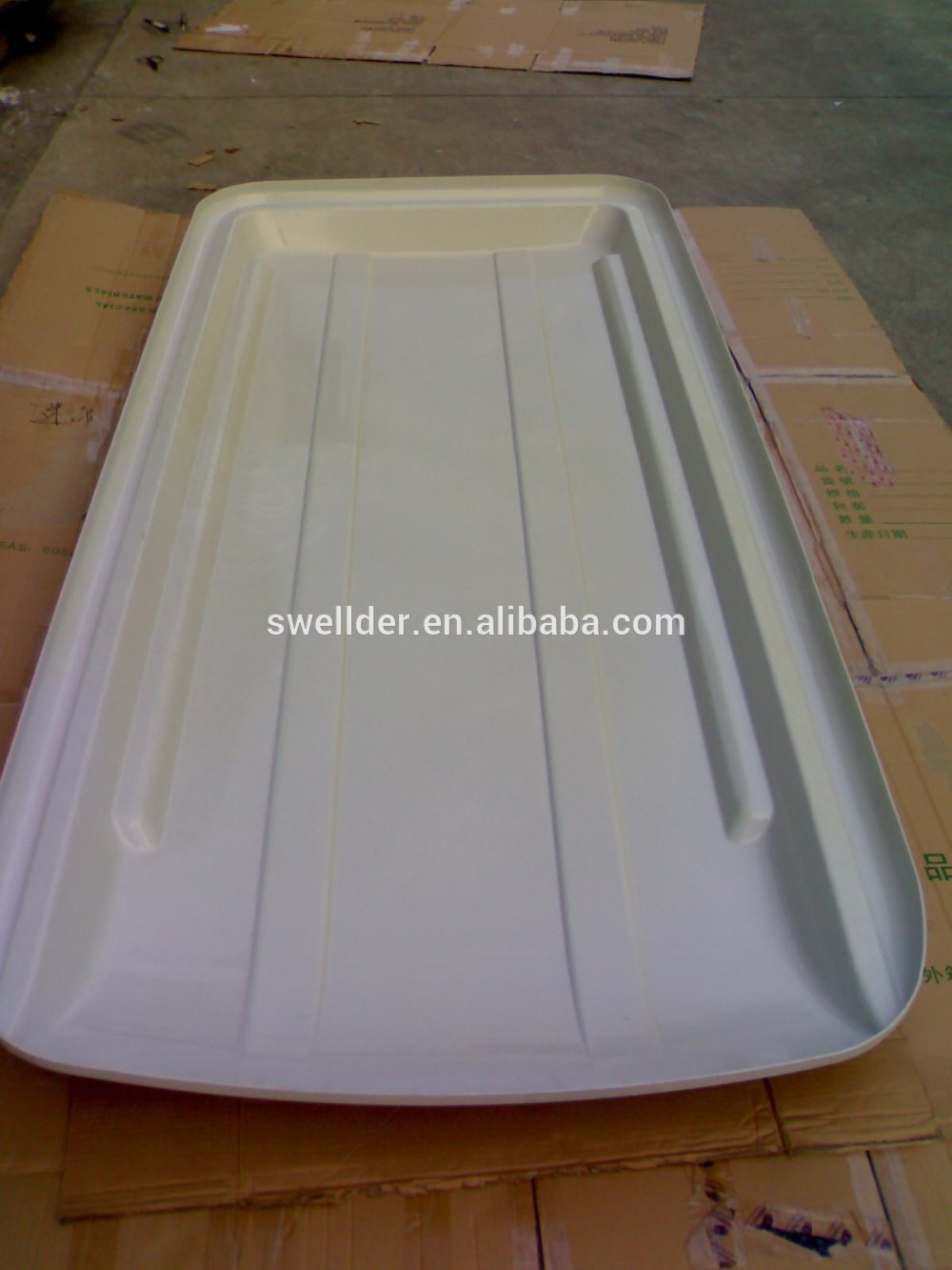 marble custom vacuum forming golf carts roof plastic shell