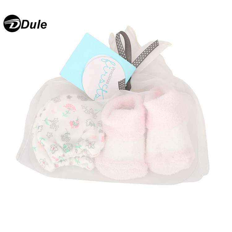 201903 blue color baby gloves newborn and baby winter gloves