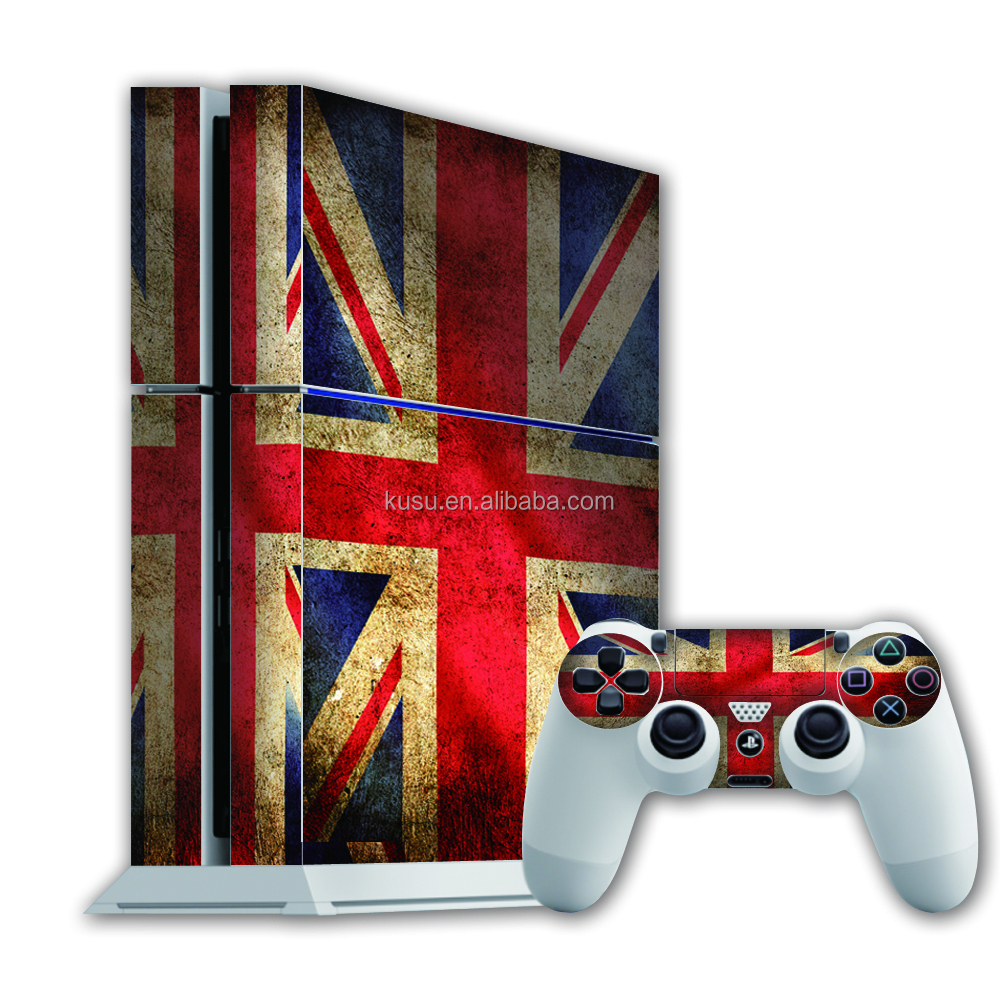 top quality decorative game player skin PS 4 sticker wholesale