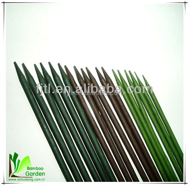 Dyed round bamboo flower sticks