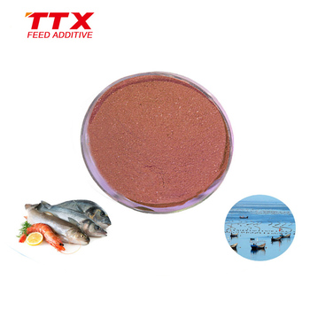 Aquaculture feed additive premix fish flavor powder