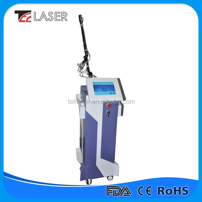 Hot Selling Dermatology Instruments Neck Tighten Sebaceous Removal Coffee Spot Remover Equipment Fractional CO2 Laser
